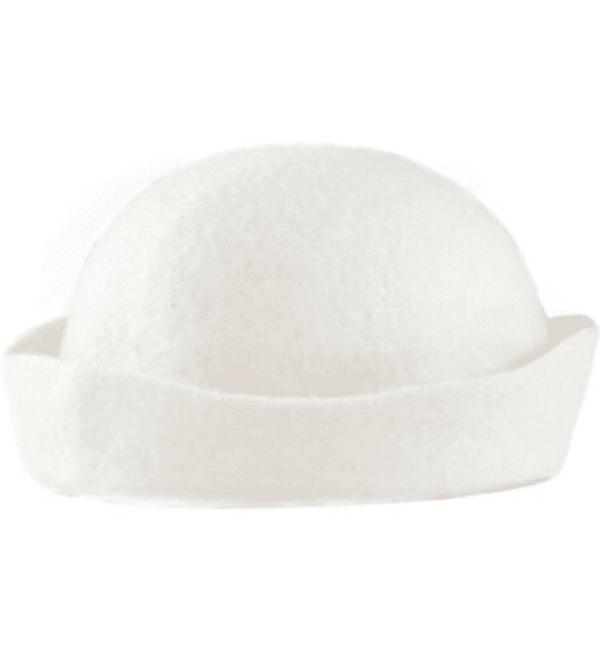 saunahattu valkoinen